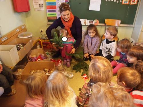 Visite de Saint Nicolas et atelier décoration de Noël