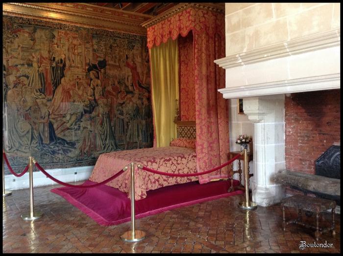 Château de Chenonceau - les chambres