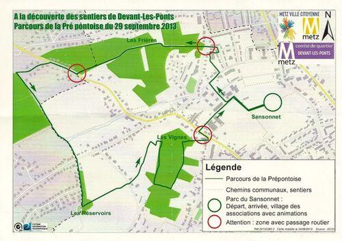 Sentiers de Devant-Les-Ponts