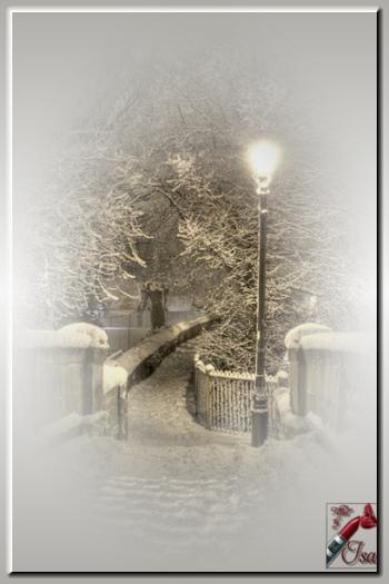 HI0002 - Tube paysage d'hiver