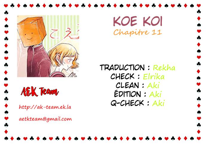 Koe Koi Chap 11
