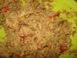 Caviar de lentilles blondes aux tomates séchées