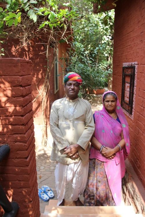 Entre Jodhpur et  Ranakpur, au  restaurant