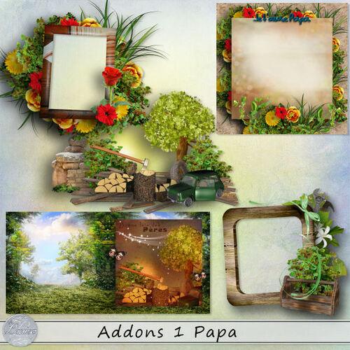 Addons 1 et 2 Papa