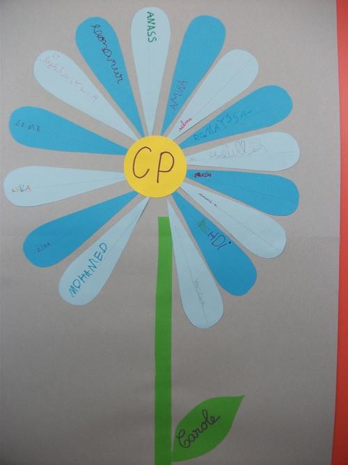 Fleur de la classe