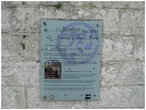 La fontaine de Clément Marot