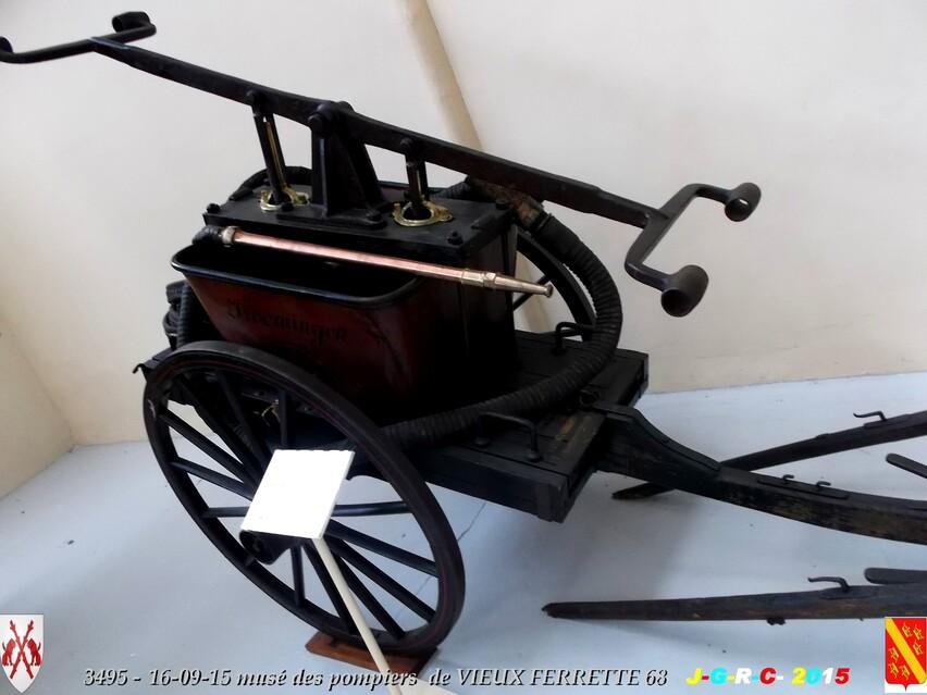 Musée du Sapeur Pompier d'ALSACE  0/0  00/26   VIEUX FERRETTE  68   D  00-00-2016