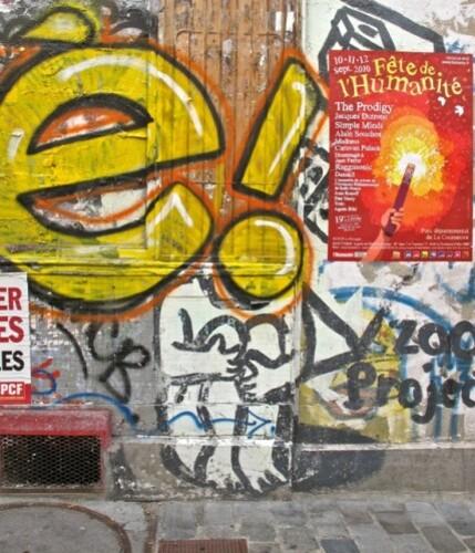 Zoo Project tags Street-art Belleville