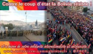 Bolivie : le MAS largement en tête des sondages, la dictature interdit la candidature de Evo Morales (IC.fr-22/02/20)