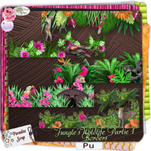 collab jungle's Wildlife