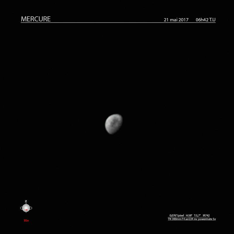 Mercure , mai 2018