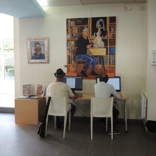 Bibliothèque Duquesnes place Gambetta Liévin