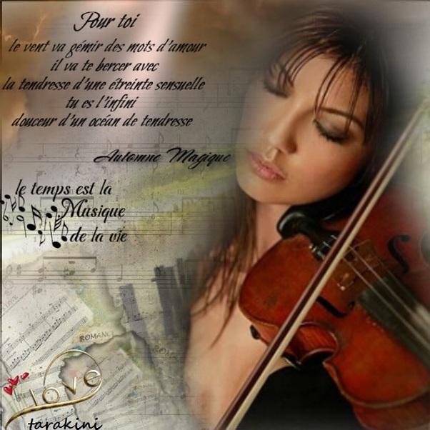 le temps est la musique de la vie ...
