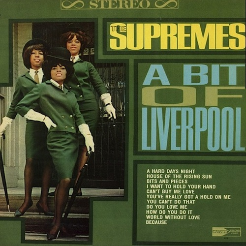 "The Supremes : Album "" A Bit Of Liverpool "" Motown Records MS 623 [ US ]"