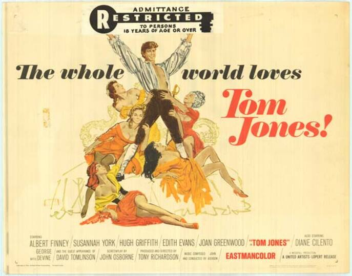 TOM JONES US BOX OFFICE 1963