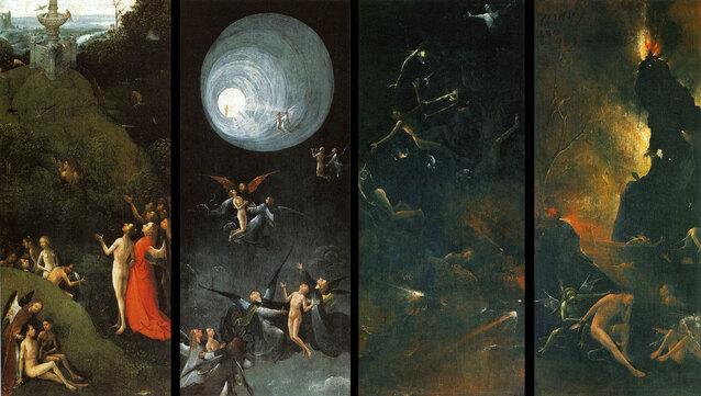 Les visions de Jérôme Bosch sur l'au-delà