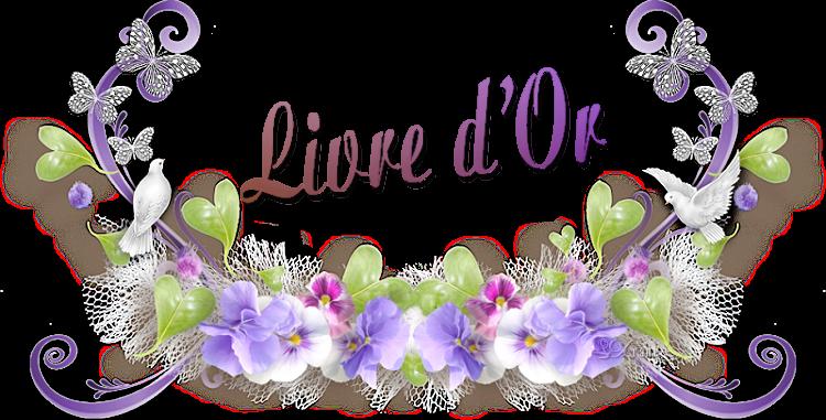 LIVRE  D'OR  Marion WARREN