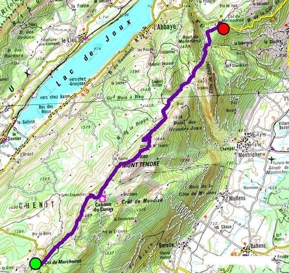 Itinéraire MySwitzerland