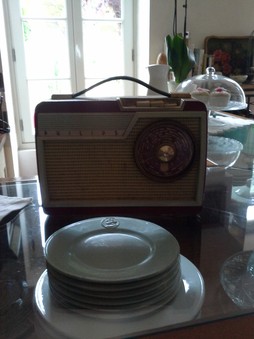 radio philips vintage 1954