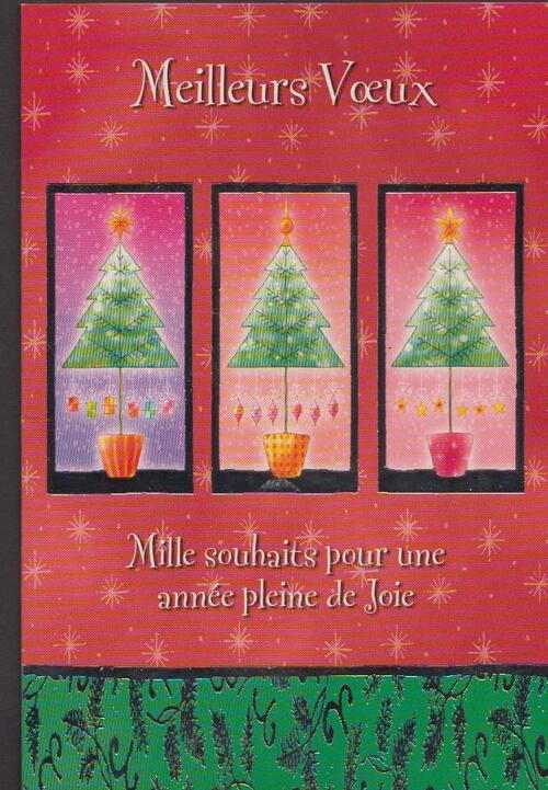 Premières cartes de noël / cartes de bonne année