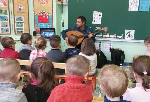 Animation à la maternelle de Dombasle sur Meurthe