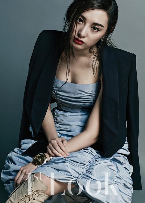 Kim Ji Won pour 1st Look