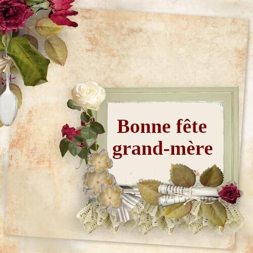 - Bonne fête grand-mère