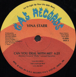 Vina Starr - Can You Deal With Me