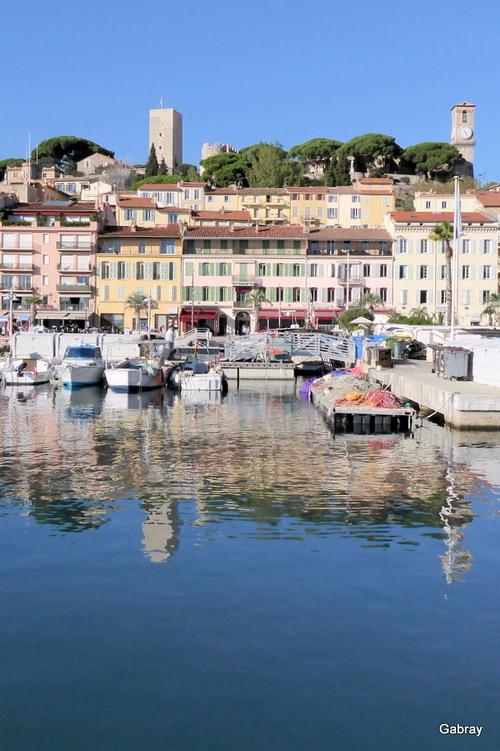 Cannes: le port et Le Suquet