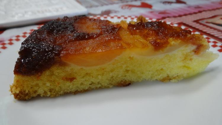 Gâteau aux Pommes de Moisson Caramélisées