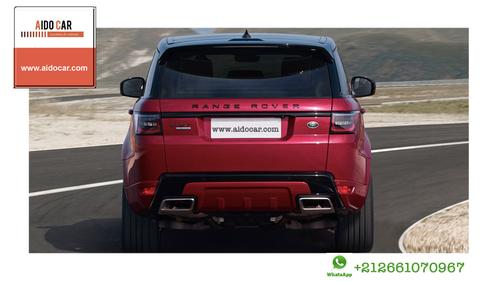Location de voiture de luxe à Casablanca – Réservez votre Range Rover Sport Dynamic 2018 !
