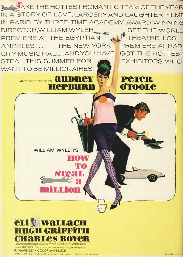 HOW TO STEAL A MILLION BOX OFFICE USA1966