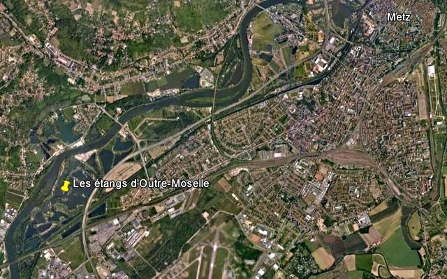 Etangs d'Outre-Moselle Metz 32 mp131