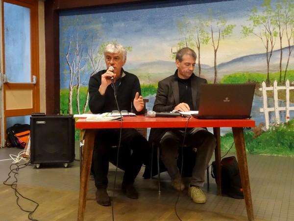 Une réunion a eu lieu à saint Marc sur Seine à l'initiative de Philippe Bertrand