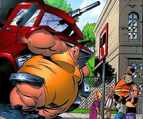 Big Bertha - 350 kg d'héroisme !