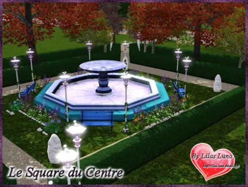 ♥ Square du Centre ♥