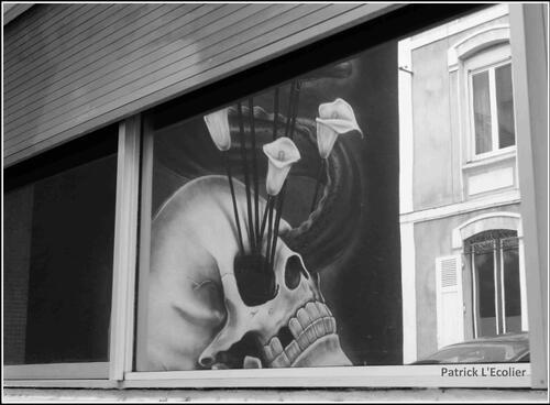 Street Art Reflet