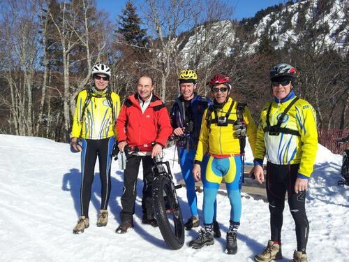 Le FAT BIKE'S TEAM du CCR.