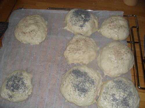 une envie de petit pain...donc j'ai fait des Buns
