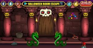 Jouer à Halloween challenge door escape
