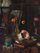 Still-life wit Shells - James Jacques Joseph Tissot - www.jamestissot.org