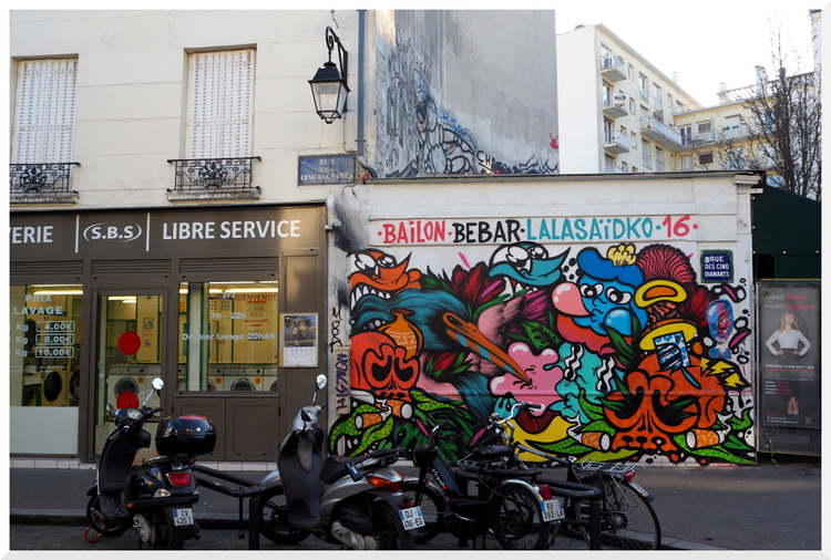 Paris. La Buttes aux Cailles.