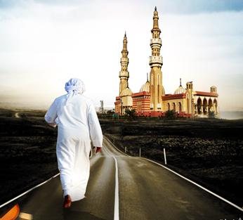Se précipiter à la mosquée quand on est en retard pour la prière -