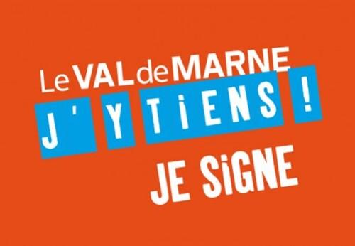 Le Val de Marne on y tient. Signez la pétition!