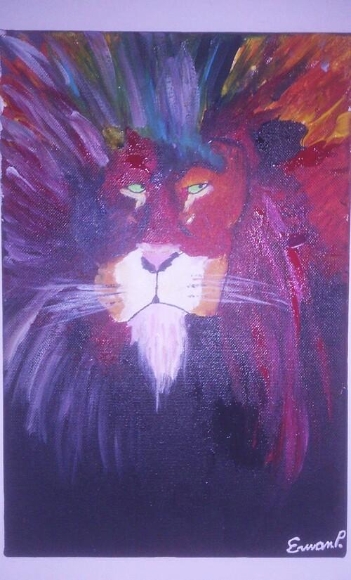 Lion par Erwan