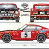 Datsun 240z Monte Carlo