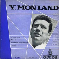 Yves Montand, 1955