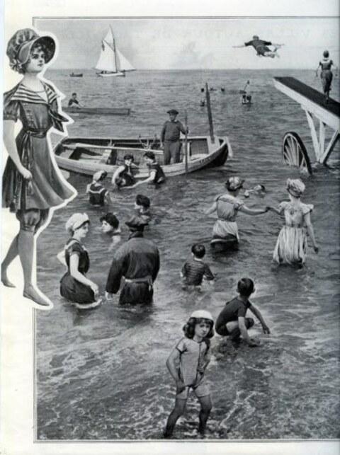 Maillot de bain 1900