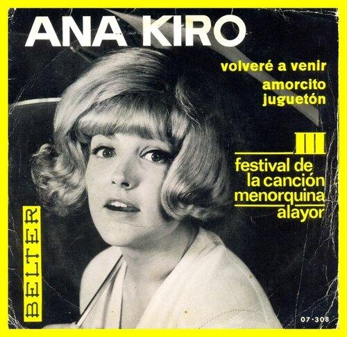 Ana Kiro - Amorcito juguetón