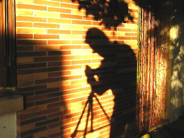 Ombre du photographe